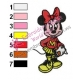 Minnie Mouse Cartoon Embroidery 7